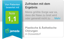 Jameda Bewertung plastische und Ästhetische Chirurgie Düsseldorf