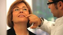 Beratung Behandlung mit Botox
